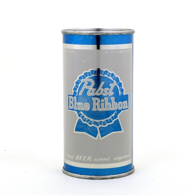 Pabst Blue Ribbon 10 oz Flat Top Beer Can