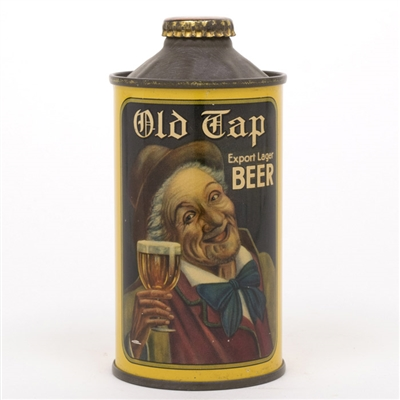 Old Tap Export Lager Beer Cone Top Can