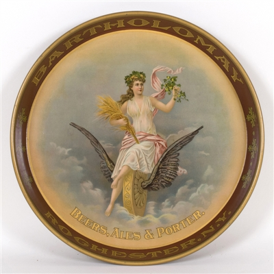Bartholomay Brewing Winged Wheel Lady Tray