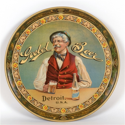 Goebel Beer Serving Tray Detroit