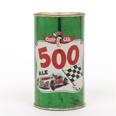 Cooks 500 Ale Flat Top Beer Can