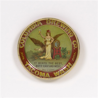 Columbia Brewing Eagle Lady Tip Tray