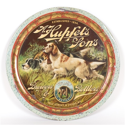 Hupfels Sons Bird Hunting Dog Tray