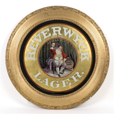 Beverwyck Lager King Gambrinus RPG Sign