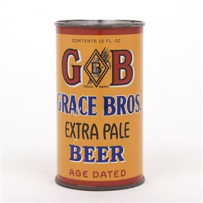 GB Grace Bros Extra Pale Instructional Flat Top