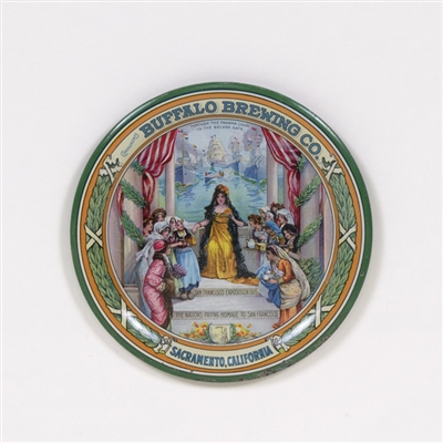 Buffalo Brewing 1915 San Francisco Exposition Tip Tray