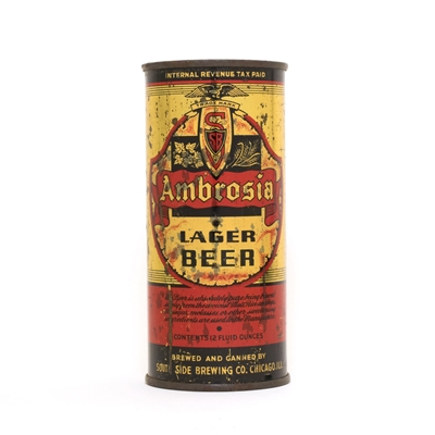 Ambrosia Lager Beer Can 36