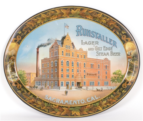 Ruhstaller Brewing Factory Scene Tray