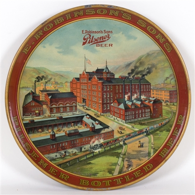 E. Robinsons Sons Factory Scene Tray
