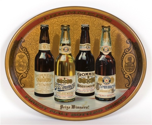 Trommers Prize Winners Bottled Beer Tray