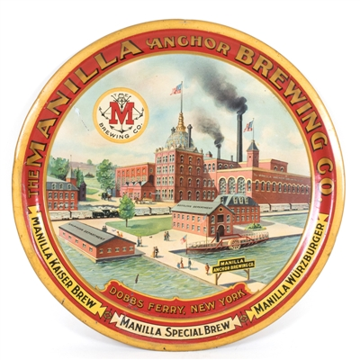 Manilla Anchor Brewing Dobbs Ferry Factory Tray