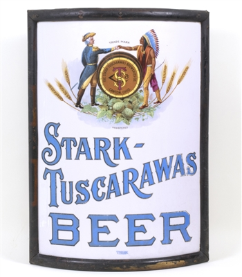 Stark Tuscarawas Beer Washington Native American Vitrolite