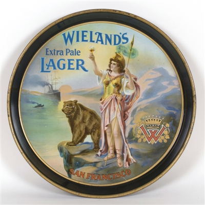 Wielands Extra Pale Lager Bear Warrior Tray