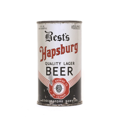 Bests Hapsburg Beer Can 102
