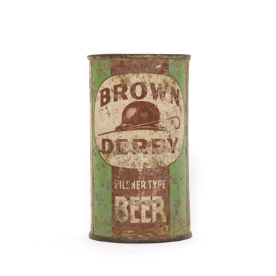 Brown Derby GREEN Can 122