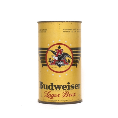 Budweiser W/F UNDOCUMENTED Can