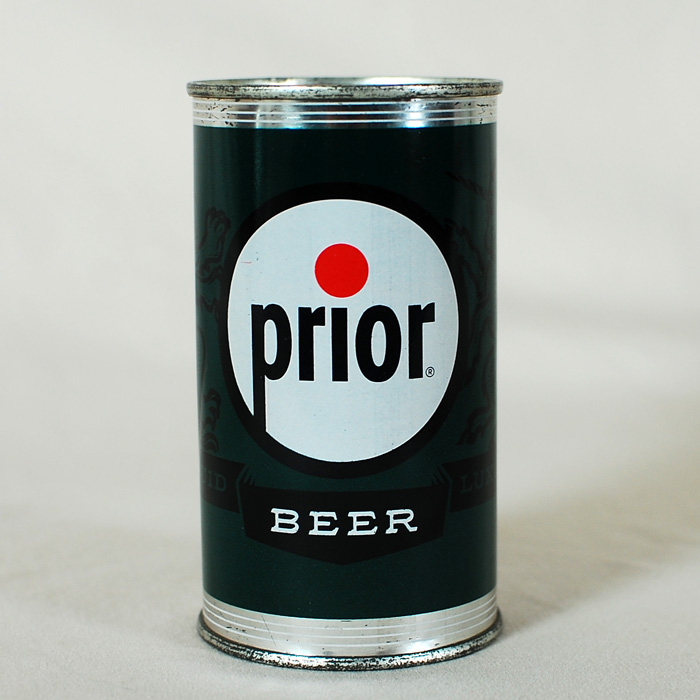 Prior Beer Flat Top Can 117-02