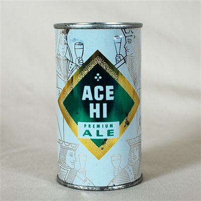 Ace Hi Premium Ale Flat Top Can 28-16