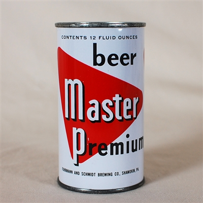 Master Premium Beer Flat Top Can 94-36