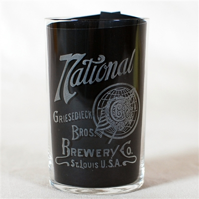 National Etched Glass Griesedieck Bros