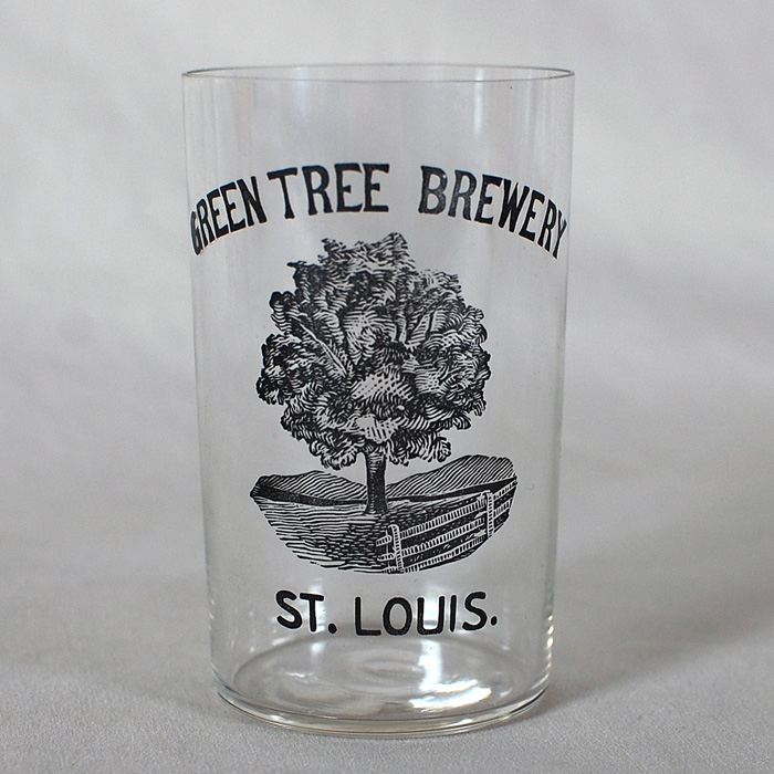 Green Tree Brewery St. Louis Glass