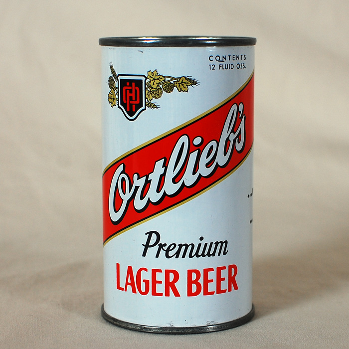 Ortlieb's Lager Beer Flat Top Can 109-18