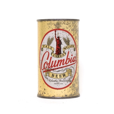 Columbia Beer Can 186