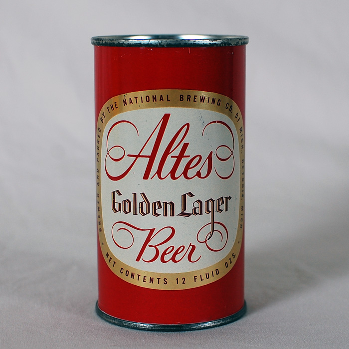 Altes Golden Lager Flat Top Can 31-4