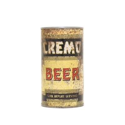 Cremo Beer RED Can 189