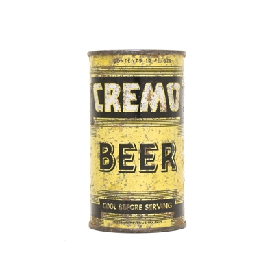 Cremo Beer BLACK Can 190
