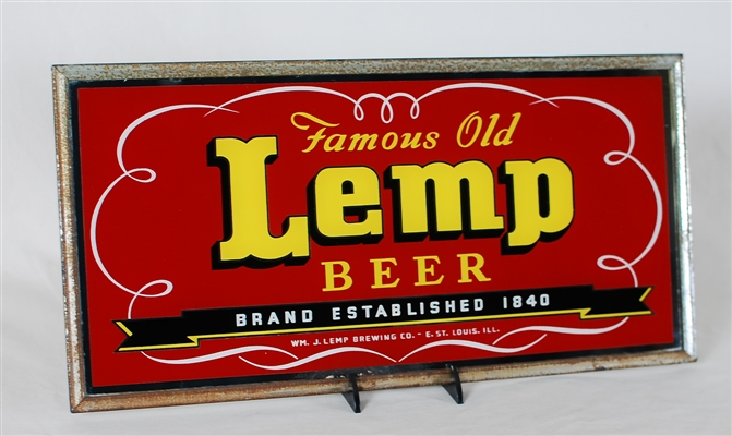 Lemp Beer Famous Old ROG Sign