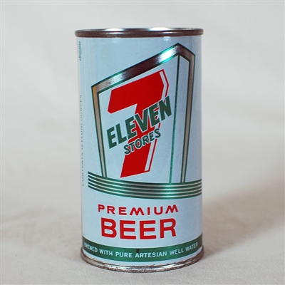Seven Eleven Stores Flat Top Can 132-30