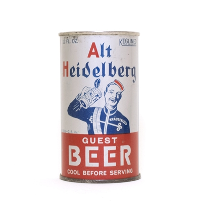 Alt Heidelberg Beer Can 25
