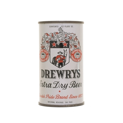 Drewrys DULL GRAY Can 204
