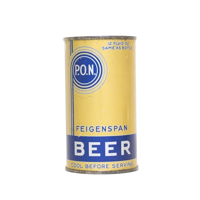 Feigenspan Beer UNDOCUMENTED WF