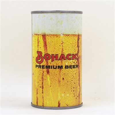 Bohack Beer Flat Top Can