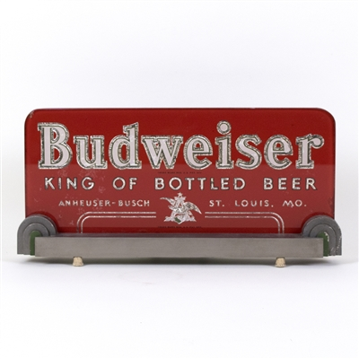 "Budweiser ""King of Bottled Beer"" RPG Back Bar Sign"