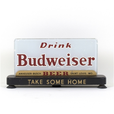 "Budweiser Beer ""Take Some Home"" RPG Back Bar Sign"