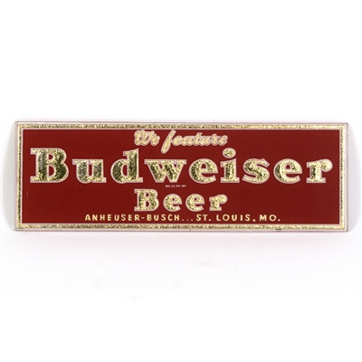 Budweiser Beer Small Rectangular RPG Sign