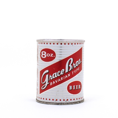 Grace Bros. Bavarian 8oz Flat Top Can