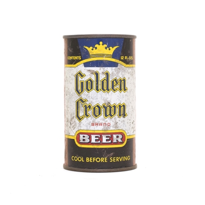 Golden Crown Beer Can 355