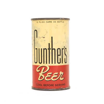 Gunthers Beer Can 372