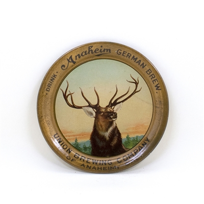 Union Brewing Anaheim Deer Tip Tray