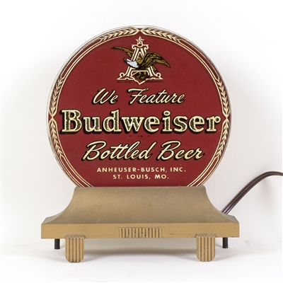 Budweiser Bottled Beer RPG Lighted Back Bar Sign