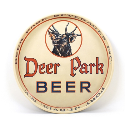 Deer Park Beer Port Jervis Tray