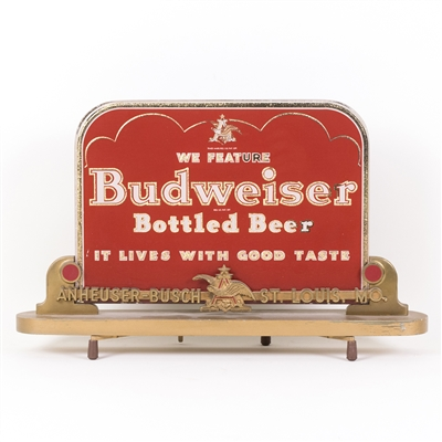 Budweiser Bottled Beer RPG Bar Sign