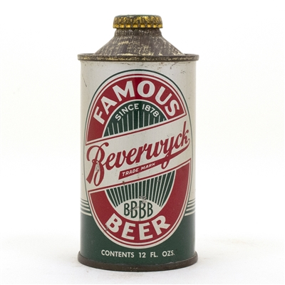 Beverwyck Cone Top Beer Can