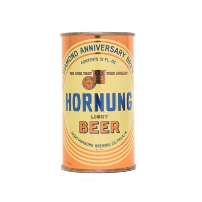 Hornungs Light Beer Can 424