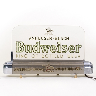Budweiser Beer RPG Lighted Back Bar Sign