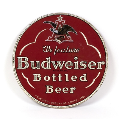 Budweiser Bottled Beer Large RPG Sign
